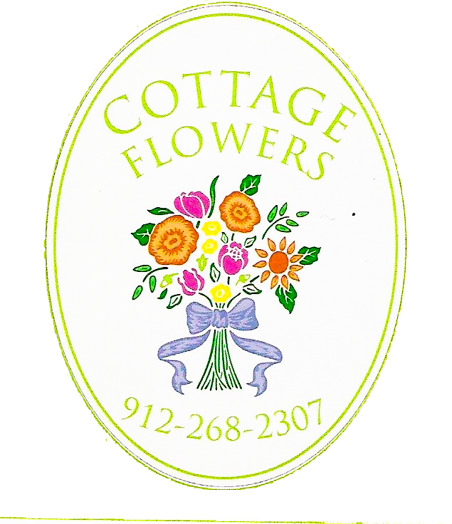 Cottage Flowers by Gay
